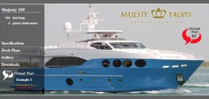 NEW  !     Majesty 105 virtual tour  !