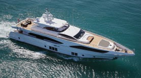 "Majesty 122 awarded ""Best Asian Built Yacht"""